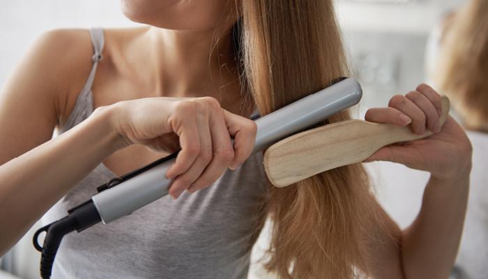 capelli lisci perfetti