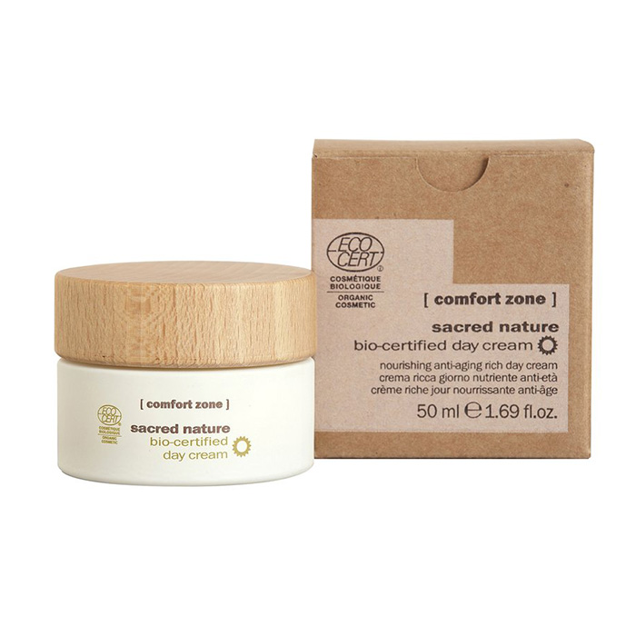 dd797b0d45 COMFORT ZONE SACRED NATURE DAY CREAM 50 ml / 1.69 Fl.Oz | ALL SKIN TYPES |  Feel Your Look