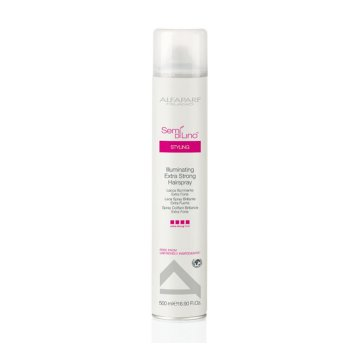 ALFAPARF ILLUMINATING EXTRA STRONG HAIRSPRAY 500 ml / 16.90 Fl.Oz