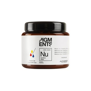 ALFAPARF PIGMENTS NU NUTRITIVE MASK 200 ml / 6.91 Fl.Oz