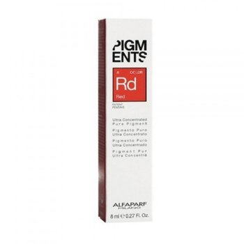 ALFAPARF PIGMENTS RD RED .6  8 ml / 0.27 Fl.Oz