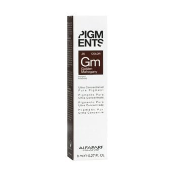 ALFAPARF PIGMENTS GM GOLDEN MAHOGANY .35  8 ml / 0.27 Fl.Oz
