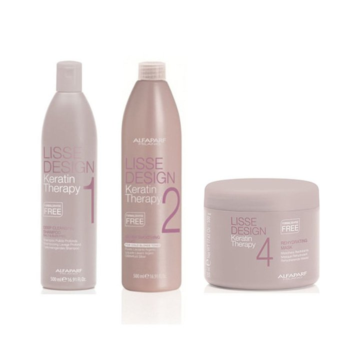 ALFAPARF LISSE KIT SMOOTHING TREATMENT DEAL