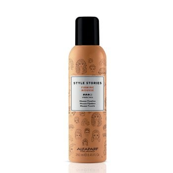 ALFAPARF STYLE STORIES FIRMING MOUSSE 250 ml / 8.45 Fl.Oz