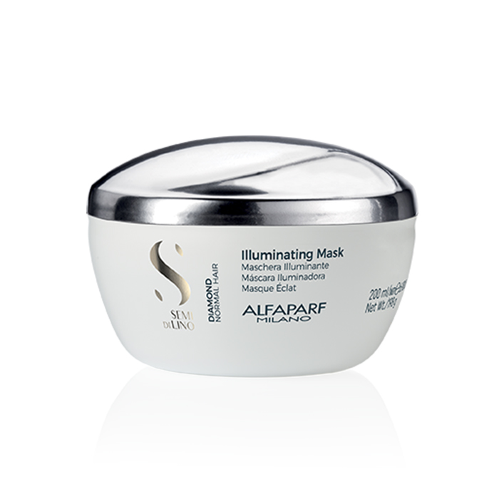 ALFAPARF SEMI DI LINO DIAMOND ILLUMINATING MASK 200 ml / 6.76 Fl.Oz