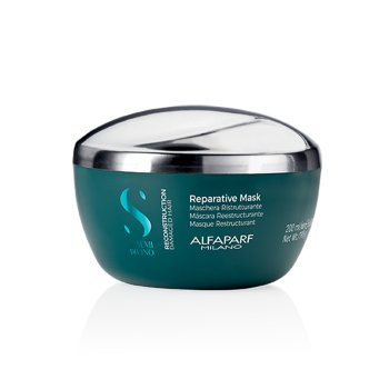 ALFAPARF SEMI DI LINO REPARATIVE MASK 200 ml / 6.76 Fl.Oz