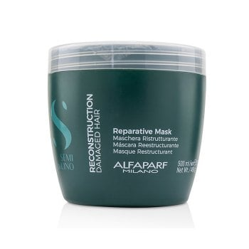 ALFAPARF SEMI DI LINO REPARATIVE MASK 500 ml / 16.90 Fl.Oz