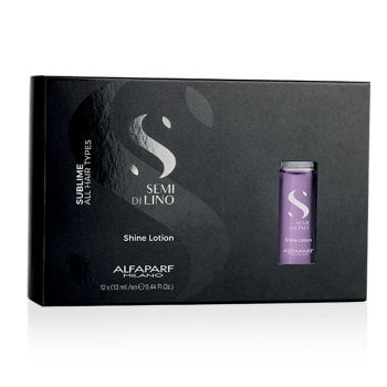 ALFAPARF SEMI DI LINO SUBLIME SHINE LOTION 12fl x 13ml / 0.43 Fl.Oz