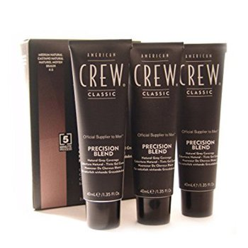 AMERICAN CREW PRECISION BLEND 4-5 MEDIUM NATURAL (CASTANO MEDIO) 3 x 40 ml / 1.35 Fl.Oz
