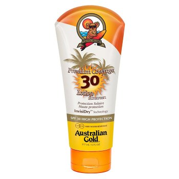 AUSTRALIAN GOLD PREMIUM COVERAGE SPF 30 LOTION SUNSCREEN 177 ml / 6.00 Fl.Oz