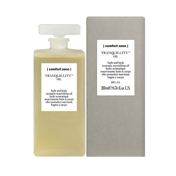 COMFORT ZONE TRANQUILLITY BATH & BODY OIL 200 ml / 6.76 Fl.Oz
