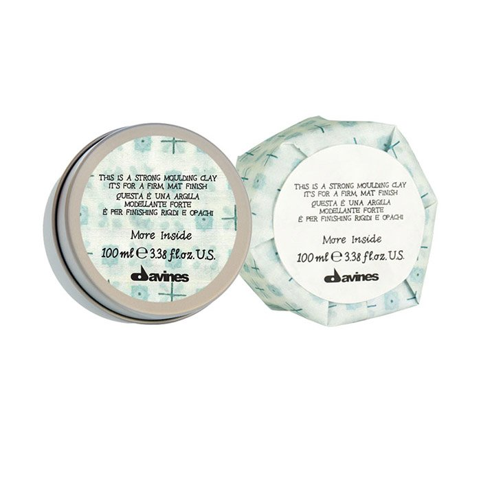DAVINES MORE INSIDE STRONG MOULDING CLAY 75 ml / 3.38 Fl.Oz