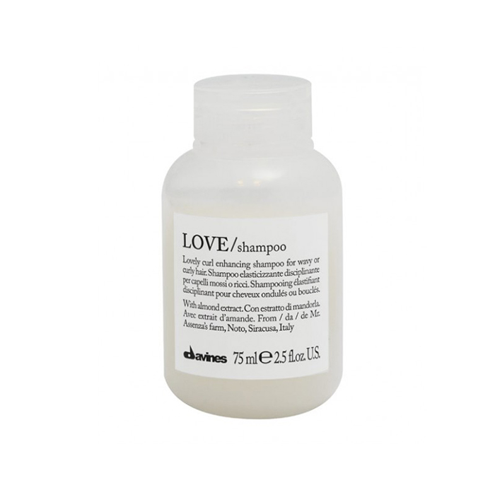 DAVINES ESSENTIAL HAIRCARE LOVE CURL SHAMPOO 75 ml / 2.50 Fl.Oz