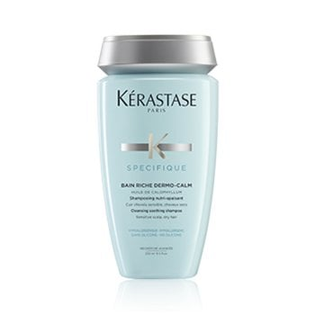 KERASTASE BAIN RICHE DERMO CALM 250 ml / 8.45 Fl.Oz