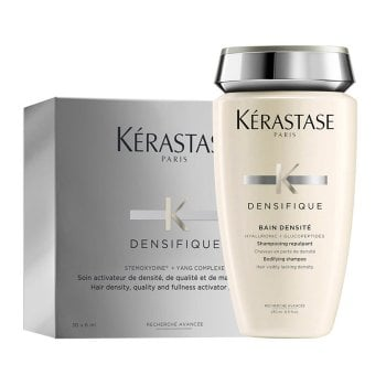 KERASTASE KIT DENSIFIQUE FEMME (BAIN DENSITE 250 ml + 30 VIALES x 6ml / 0.20 Fl.Oz)