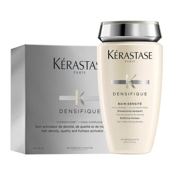 KERASTASE KIT DENSIFIQUE FEMME (BAIN DENSITE 250 ml + 30 VIALS x 6ml / 0.20 Fl.Oz)