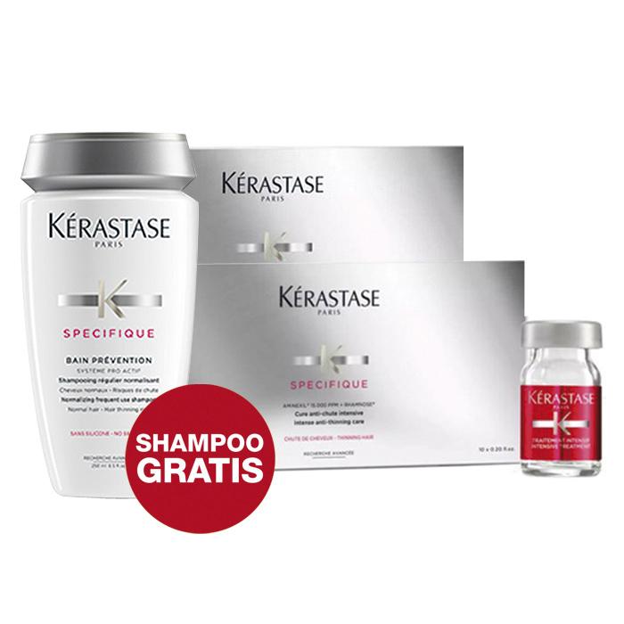 KERASTASE - PROGRAMMA ANTICADUTA (20 VIALS + BAIN PREVENTION FREE)