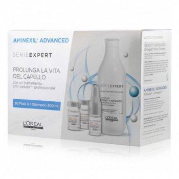 L'OREAL - AMINEXIL ADVANCED (30 VIALS + SHAMPOO FREE)