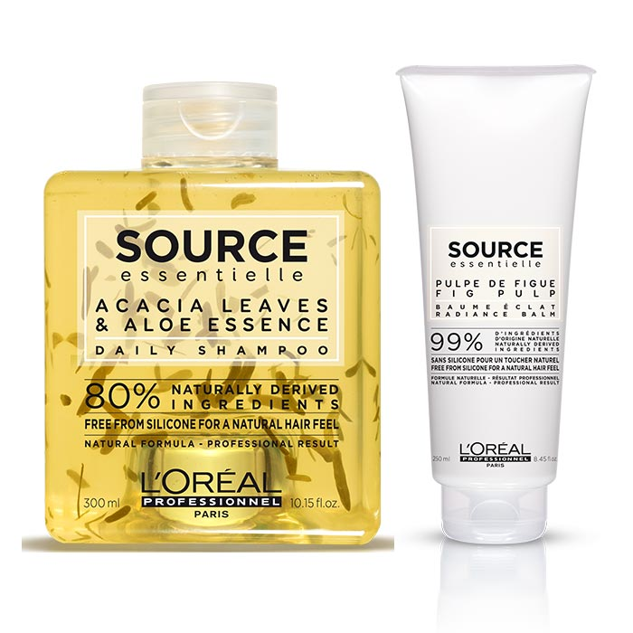 L'OREAL SOURCE ESSENTIELLE DAILY RADIANCE BALM KIT