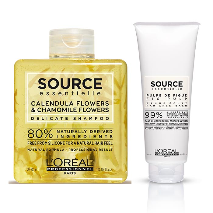 L'OREAL SOURCE ESSENTIELLE DELICATE RADIANCE BALM KIT