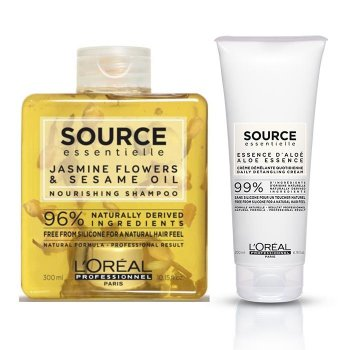L'OREAL SOURCE ESSENTIELLE NOURISHING DETANGLING CREAM KIT