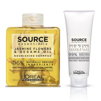 L'OREAL SOURCE ESSENTIELLE NOURISHING RADIANCE BALM KIT