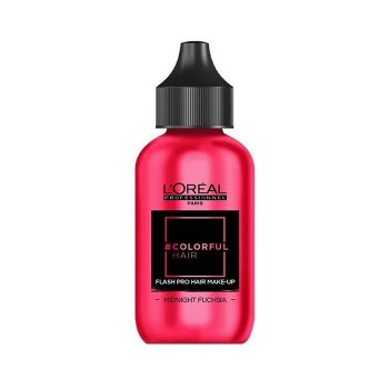 L'OREAL COLORFUL HAIR FLASH MIDNIGHT FUCHSIA 60 ml / 2.03 Fl.Oz