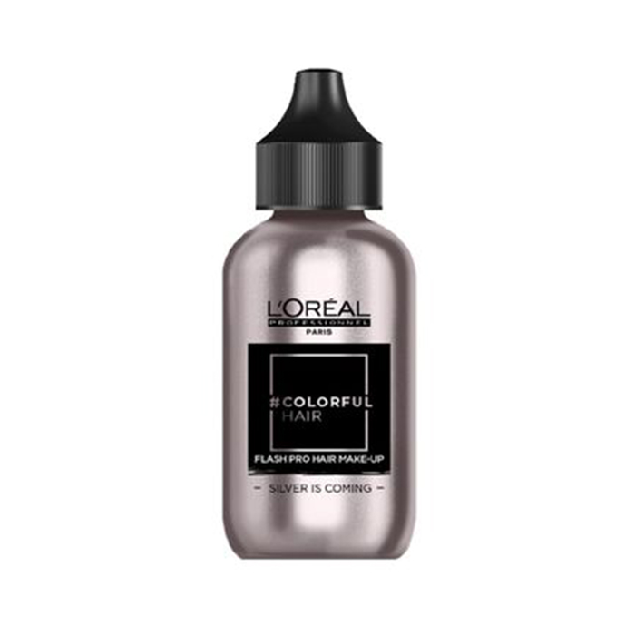 L'OREAL COLORFUL HAIR FLASH SILVER IS COMING 60 ml / 2.03 Fl.Oz