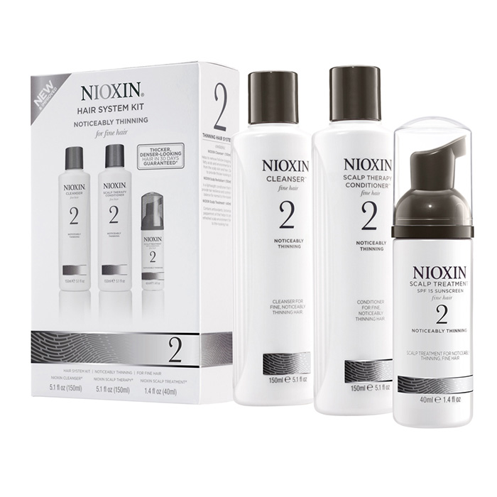NIOXIN 3D CARE SYSTEM KIT 2 - CAPELLI NATURALI DIRADATI - NATURAL HAIR PROGRESSED THINNING