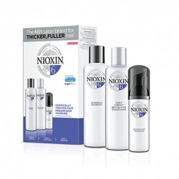 NIOXIN 3D CARE SYSTEM KIT 6 - CAPELLI TRATTATI DIRADATI - CHEMICALLY HAIR PROGRESSED THINNING