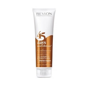 REVLONISSIMO 45 DAYS CONDITIONING SHAMPOO INTENSE COPPERS 275 ml / 9.30 Fl.Oz
