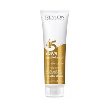 REVLONISSIMO 45 DAYS CONDITIONING SHAMPOO GOLDEN BLONDES 275 ml / 9.30 Fl.Oz
