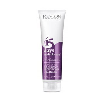 REVLONISSIMO 45 DAYS CONDITIONING SHAMPOO ICE BLONDES 275 ml / 9.30 Fl.Oz