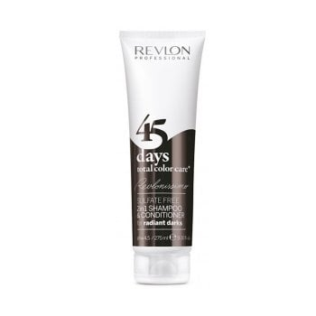 REVLONISSIMO 45 DAYS CONDITIONING SHAMPOO RADIANT DARKS 275 ml / 9.30 Fl.Oz