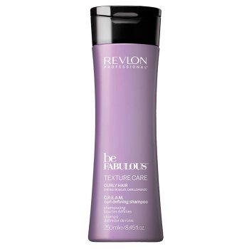 REVLON PROFESSIONAL BE FABULOUS CURL DEFINING SHAMPOO 250 ml / 8.45 Fl.Oz
