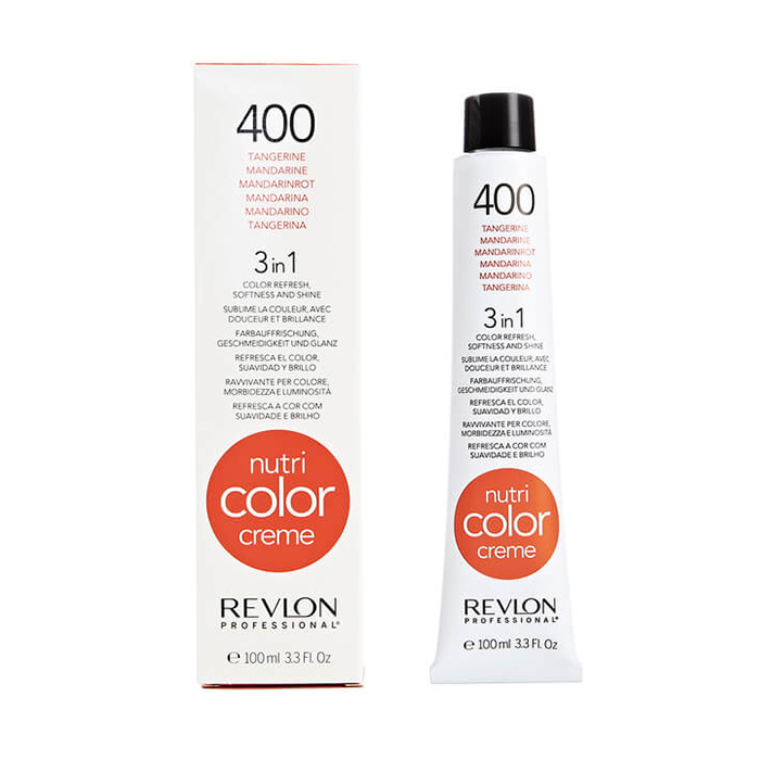 REVLON PROFESSIONAL NUTRI COLOR CREME 400 - TANGERINE 100 ml / 3.30 Fl.Oz