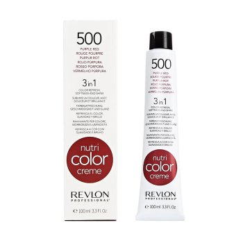 REVLON PROFESSIONAL NUTRI COLOR CREME 500 - PURPLE RED 100 ml / 3.30 Fl.Oz