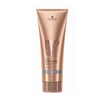 SCHWARZKOPF BLONDME TONE ENHANCING BONDING SHAMPOO COOL BLONDES 250 ml / 8.40 Fl.Oz
