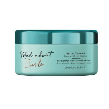 SCHWARZKOPF MAD ABOUT CURLS BUTTER TREATMENT 200 ml / 6.80 Fl.Oz