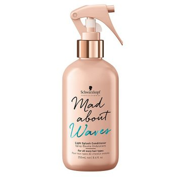 SCHWARZKOPF MAD ABOUT WAVES LIGHT SPLASH CONDITIONER 250 ml / 8.40 Fl.Oz