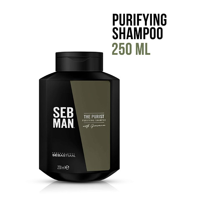 SEBASTIAN MAN THE PURIST SHAMPOO 250 ml / 8.45 Fl.Oz