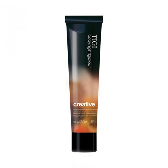 TIGI CREATIVE 55/66 - INTENSE RED LIGHT BROWN 60 ml / 2.03 Fl.Oz
