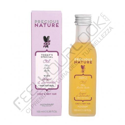 ALFAPARF PRECIOUS NATURE CURLY WAVY HAIR OIL 100 ml / 3.38 Fl.Oz