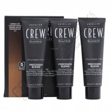AMERICAN CREW PRECISION BLEND 5-6 MEDIUM ASH (CASTANO CHIARO) 3 x 40 ml / 1.35 Fl.Oz