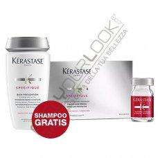 KERASTASE - PROGRAMMA ANTICADUTA (10 FIALE + BAIN PREVENTION in OMAGGIO)
