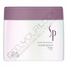 WELLA SP CLEAR SCALP MASK 400 ml / 13.52 Fl.Oz