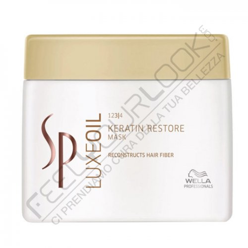 WELLA SP LUXE OIL KERATIN RESTORE MASK 400 ml / 13.52 Fl.Oz