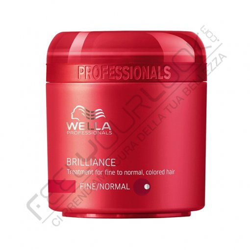 WELLA BRILLANCE MASK CAPELLI NORMALI-FINI 150 ml / 5.07 Fl.Oz