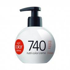 REVLON PROFESSIONAL NUTRI COLOR CREME 740 - LIGHT COPPER 270 ml / 9.10 Fl.Oz