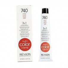 REVLON PROFESSIONAL NUTRI COLOR CREME 740 - LIGHT COPPER 100 ml / 3.30 Fl.Oz